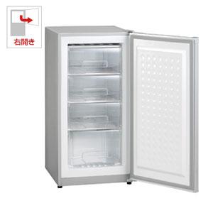 (標準設置料込)MA-6114 三ツ星貿易 114L 冷凍庫【右開き】直冷式 シルバーグレー EXCELLENCE