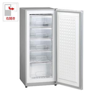 (標準設置料込)MA-6144 三ツ星貿易 144L 冷凍庫【右開き】直冷式 シルバーグレー EXCELLENCE [MA6144]