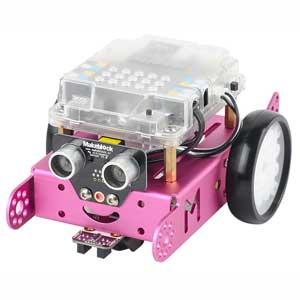 STEM教育用ロボットキット mBot V1.1-Pink(Bluetooth Version)(ピンク) Makeblock