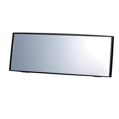 M43 品質保証 カーメイト ミニバン用ルームミラー 3000R 290mm クローム鏡 ブラック REAR BLACK 290MM CONVEX MIRROR PERFECT VIEW 期間限定今なら送料無料 -