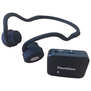DENHEADH 日本コンピュータ・ダイナミクス 集音器・骨伝導ワイヤレスヘッドホン NCD DenDen(デンデン)