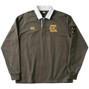 CCC RA48591 47 XL カンタベリー メンズ 長袖ラガーシャツ(オリーブ・サイズ:XL) CANTERBURY ロングスリーブ ラガー シャツ (メンズ)
