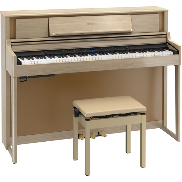 LX705-LAS ローランド 電子ピアノ(ライトオーク調仕上げ)【高低自在椅子&楽譜集付き】 Roland LX700 Series