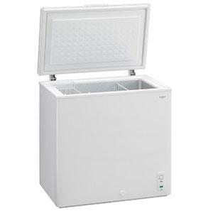 (標準設置料込)MA-6142 三ツ星貿易 142L冷凍庫【上開き】直冷式 ホワイト EXCELLENCE