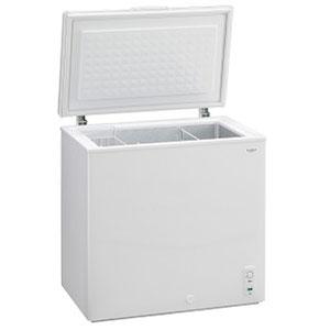 (標準設置料込)MA-6171A 三ツ星貿易 171L冷凍庫【上開き】直冷式 ホワイト EXCELLENCE