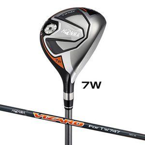 TW747-FW#7-S 本間ゴルフ ツアーワールド TW747 フェアウェイウッド VIZARD For TW747 50シャフト #7W フレックス:S