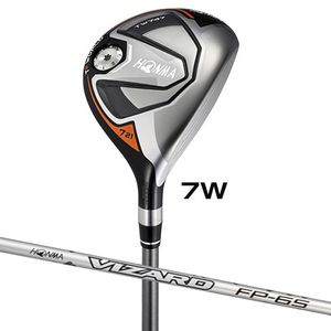 TW747-FW#7-FP6-X 本間ゴルフ ツアーワールド TW747 フェアウェイウッド VIZARD FP-6シャフト #7W フレックス:X