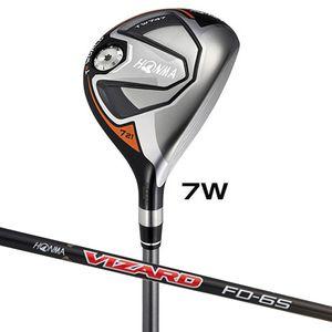 TW747-FW#7-FD6-SR ホンマゴルフ ツアーワールド TW747 フェアウェイウッド VIZARD FD-6シャフト #7W フレックス:SR