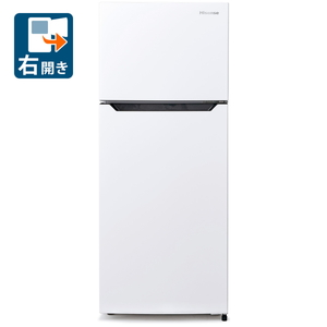 (標準設置料込)HR-B12C ハイセンス 120L 2ドア冷蔵庫(直冷式)ホワイト【右開き】 Hisense [HRB12C]