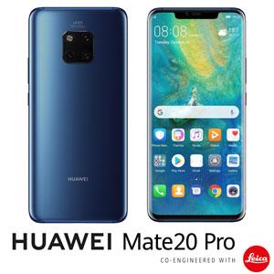 MATE20PRO/BLUE HUAWEI HUAWEI Mate 20 Pro ミッドナイトブルー 6.39インチ SIMフリースマートフォン