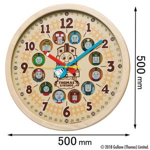 CQ-221-B セイコークロック 電波掛け時計【きかんしゃトーマス】 [CQ221B]【返品種別A】