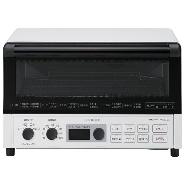 HMO-F100-W 日立 コンベクションオーブントースター ホワイト HITACHI [HMOF100W]