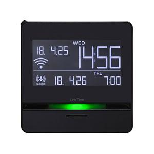 LT10 キングジム 無線LAN対応目覚まし時計 スマートプログラムアラーム「リンクタイム」 [LT10]【返品種別A】