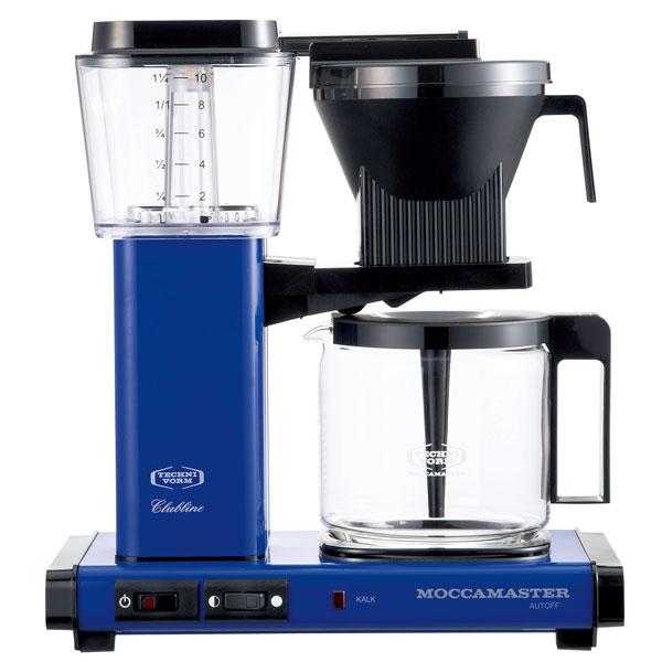 MM741AO-RB モカマスター コーヒーメーカー ロイヤルブルー MOCCAMASTER