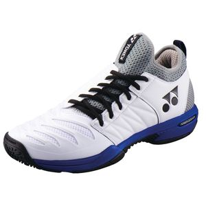 YO-SHTF3MGC-725-23.0 ヨネックス テニス メンズ シューズ(ホワイト×オーシャンブルー・23.0cm) YONEX パワークッション フュージョンレブ3 メン GC