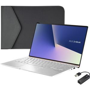 【200円OFF?当店限定クーポン 3/11 1:59迄】UX433FN-8265IS ASUS(エイスース) 14型 ノートパソコン ASUS ZenBook 14 UX433FN アイシクルシルバー (Core i5/メモリ 8GB/SSD 256GB/GeForce MX150)