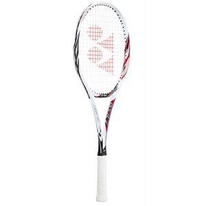 YO-GSR7-114-UL0 ヨネックス ソフトテニスラケット(ホワイト×レッド・サイズ:UL0・ガット未張り上げ)ジーエスアール7 YONEX GSR7