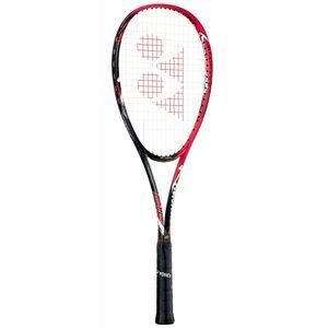 YO-NF8VR-596-SL2 ヨネックス ソフトテニスラケット(フレイムレッド・サイズ:SL2・ガット未張り上げ)ナノフォース8Vレブ YONEX NANOFORCE 8V REV