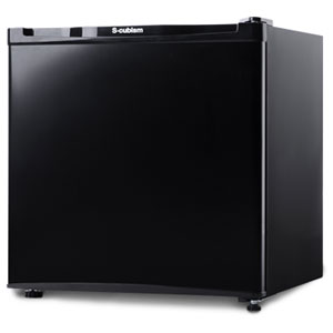 (標準設置料込)WFR-1032BK エスキュービズム 32L 冷凍庫(直冷式)ブラック S-cubism
