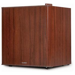 WRH-1049DW エスキュービズム 49L 1ドア冷蔵庫(直冷式)ダークウッド S-cubism インテリア冷蔵庫
