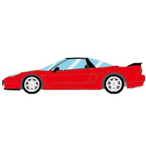 1/43 Honda NSX-R (NA2) 2002 ニューフォーミュラレッド【EM389B】 メイクアップ
