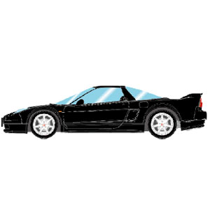 1/43 Honda NSX-R (NA2) 2002 ベルリナブラック【EM389C】 メイクアップ