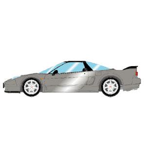 1/43 Honda NSX-R (NA2) 2002 シルバーストーンメタリック【EM389D】 メイクアップ