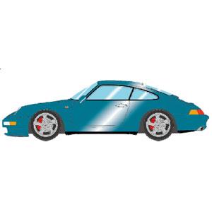 1/43 Porsche 911(993) Carrera 4S 1996 タルキッシュメタリック【VM146C】 メイクアップ