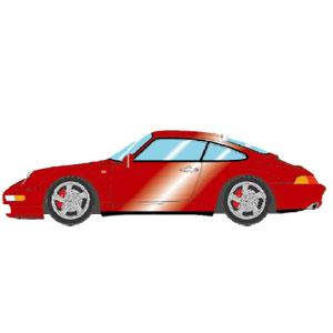 1/43 Porsche 911(993) Carrera 4S 1996 ワインメタリック【VM146E】 メイクアップ