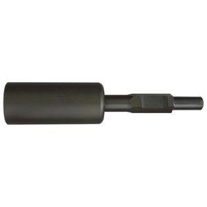 10111 清水製作所 単管打込アダプターB型 30H×330mm内径50φ 8900N ラクダ
