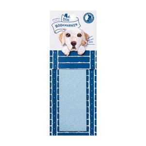 UTN077 ヒサゴ DOG BOOKMARKER 刺繍しおり(ラブラドールレトリバー/白)