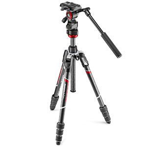 MVKBFRTC-LIVE マンフロット befree live カーボンT三脚ビデオ雲台キット Manfrotto Befree Advanced