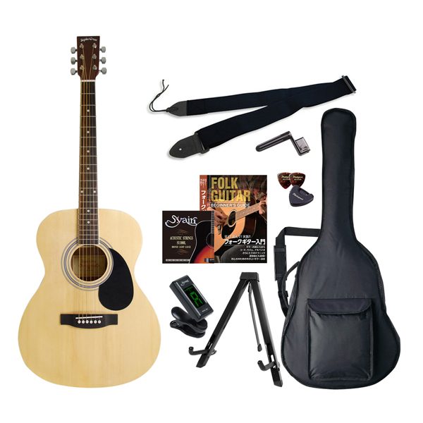 FG-10/N エントリ-セツト セピアクルー アコースティックギター(ナチュラル)エントリーセット Sepia Crue