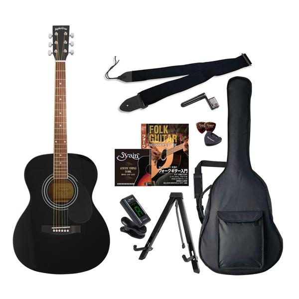 FG-10/BK エントリ-セツト セピアクルー アコースティックギター(ブラック)エントリーセット Sepia Crue