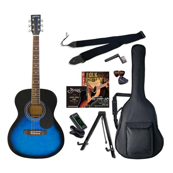 FG-10/BLS エントリ-セツト セピアクルー アコースティックギター(ブルーサンバースト)エントリーセット Sepia Crue