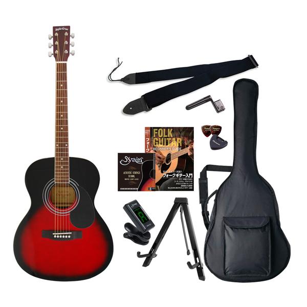 FG-10/RDS エントリ-セツト セピアクルー アコースティックギター(レッドサンバースト)エントリーセット Sepia Crue