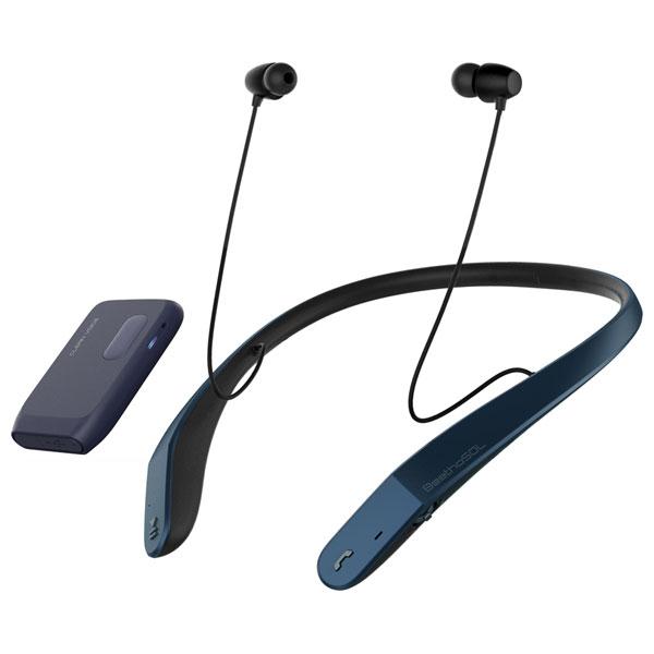 EM-C110GB ベートソル Bluetooth搭載 首かけ集音器(ジェントル・ブルー) BeethoSOL 慶洋エンジニアリング