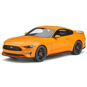 1/18 2019 フォード マスタング GT(オレンジ) 世界限定 999個【GTS205】 GTスピリット