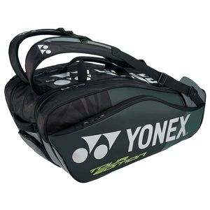 YO-BAG1802N-007 ヨネックス ラケットバッグ9(リュック付)(ブラック・テニス9本用) YONEX PRO series