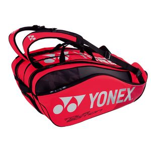 YO-BAG1802N-596 ヨネックス ラケットバッグ9(リュック付)(フレイムレッド・テニス9本用) YONEX PRO series