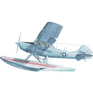 1/32 米L-19/O-1バードドッグ小型水上機【032T629】 ローデン