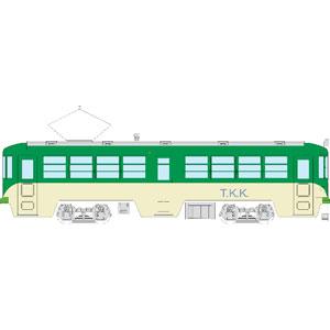 [鉄道模型]トラムウェイ (HO) TW-80PKK2 玉電80形塗装済キット2両セット(緑・クリーム塗装)