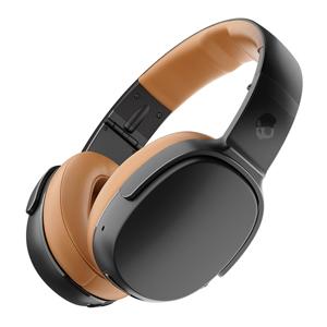 S6MBW-J373 スカルキャンディ Bluetooth対応ダイナミック密閉型ヘッドホン (ブラック/タン) CRUSHER 360 ULTRA-REALISTIC AUDIO