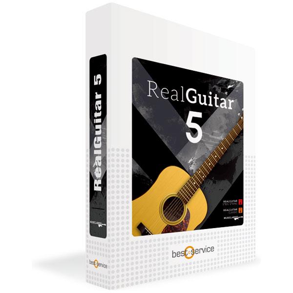 REAL GUITAR 5 / BOX MUSIC LAB ※パッケージ版