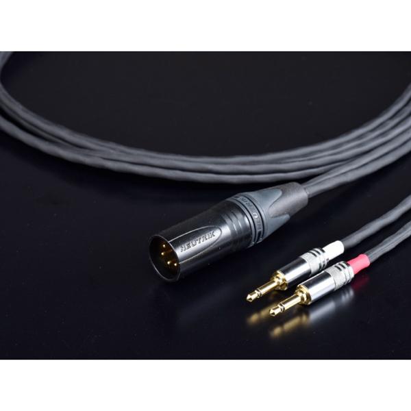 MH-DF12FE-4X30 ティグロン FOCAL ELEAR用 ヘッドフォンリケーブル(3.0m)【FOCAL ELEAR⇔XLR4ピン】 Tiglon
