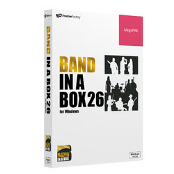 Band-in-a-Box 26 for Win MegaPAK PG Music ※パッケージ版