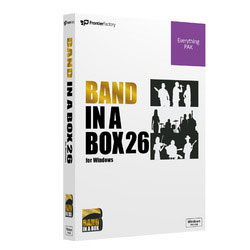 Band-in-a-Box Music 26 Band-in-a-Box for Win EverythingPAK PG Win Music ※パッケージ版, おてんと屋:7ffab13f --- sunward.msk.ru