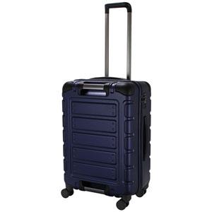 TRI2112-56 MNV シフレ スーツケース ファスナータイプ 55L(マットネイビー) TRIDENT(トライデント)