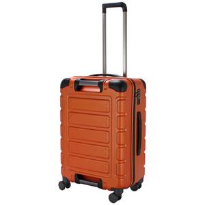 TRI2112-56 MOR シフレ スーツケース ファスナータイプ 55L(マットオレンジ) TRIDENT(トライデント)