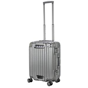 TRI1102-48 アルミSV シフレ スーツケース ハードフレーム 27L(アルミシルバー) TRIDENT(トライデント)